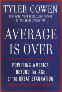 average is over book cover tyler cowen