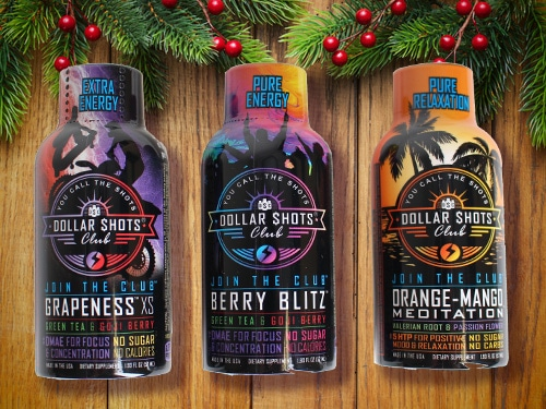 dollar shots club energy drink subscription service