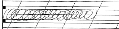 Movement exercises handwriting style.