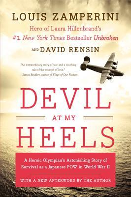 devil at my heels book cover louis zamperini