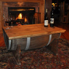 Thumbnail image for How to Make a Table from a Whiskey Barrel