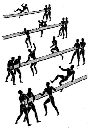 Army physical training log rat race a2.
