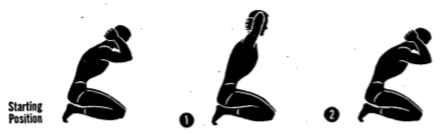 Starting Position posture ex 4.