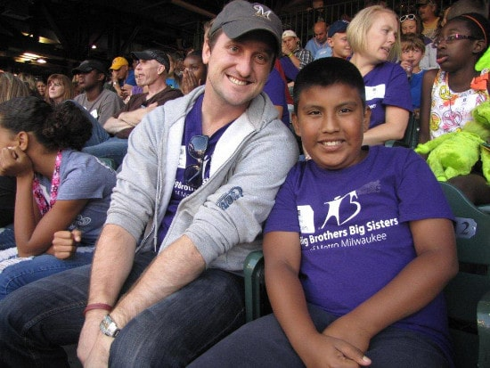 mentor with young hispanic boy big brothers big sisters