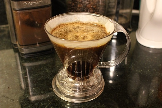 clever coffee pour over