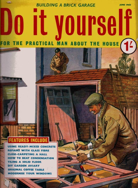 do it yourself magazine cover june 1960