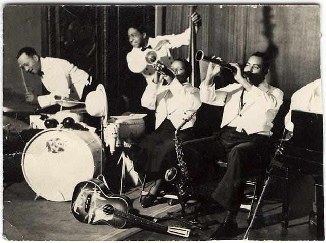 vintage jazz improv group