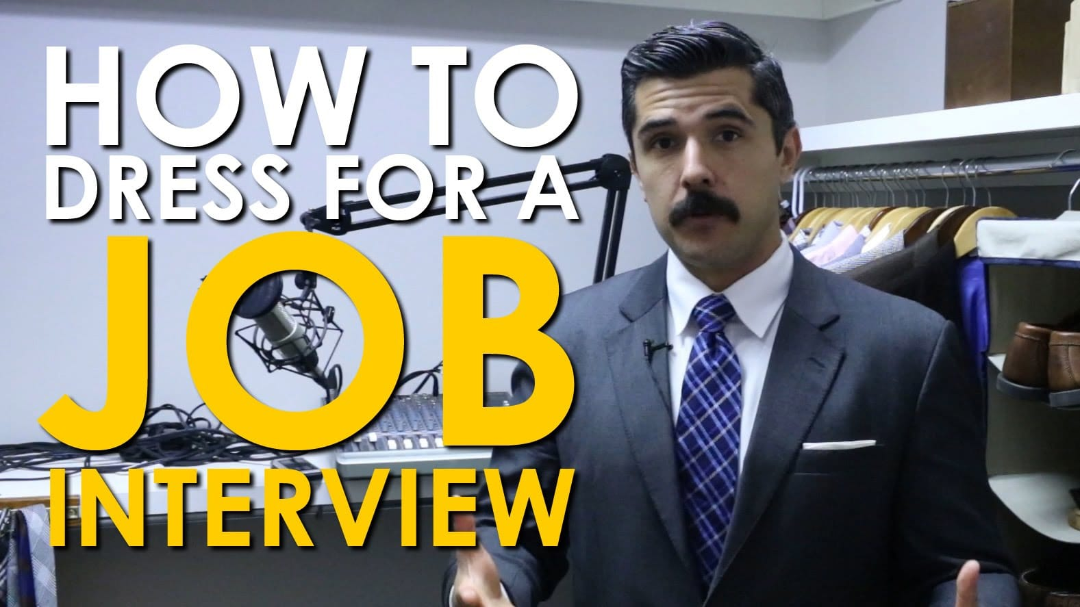 Dressing For Job Interviews [Video] | The Art of Manliness