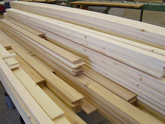 The guy s guide to lumber lewrockwell for Softwood decking boards