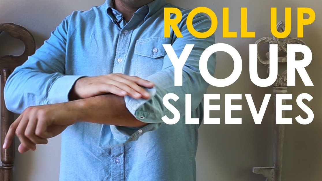 How to Roll Your Shirt Sleeves | The Art of Manliness