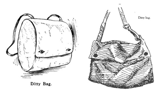 Ditty bag illustration.