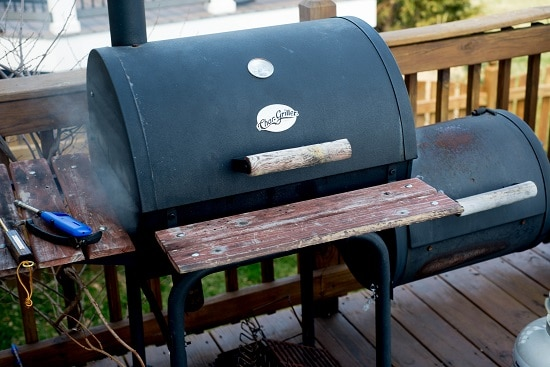 Smoker for meat ripening.