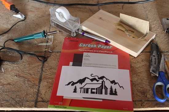 Woodburning supplies.