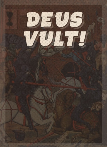Dues vult battle cry.