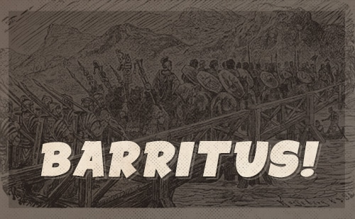 roman barritus battle cry