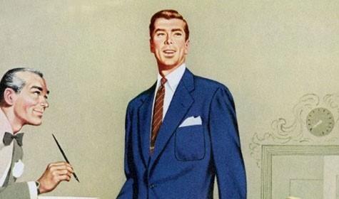 man at hotel concierge