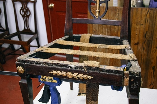 disassemble repair antique chair. How to Repair Your Own Furniture   The Art of Manliness
