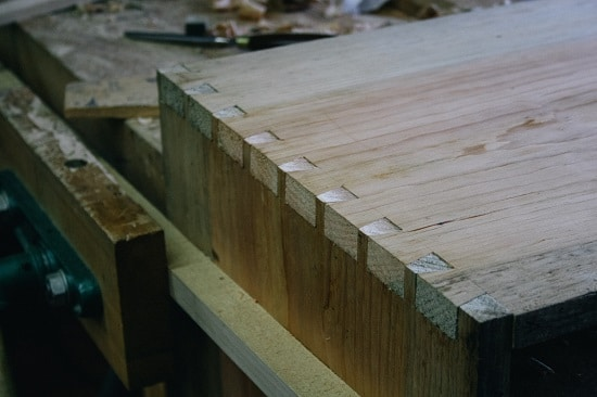 Dovetail Joint.