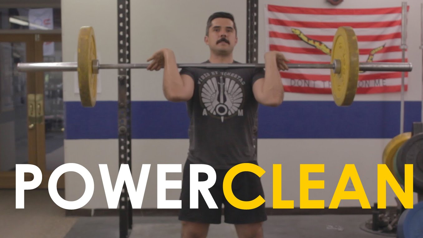 How to Power Clean [VIDEO] | The Art of Manliness