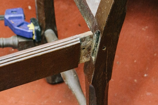 Mortise and Tenon joint.