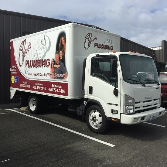 steve's plumbing truck seattle area washington