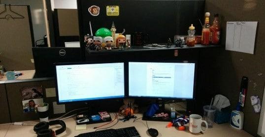 app developer work station