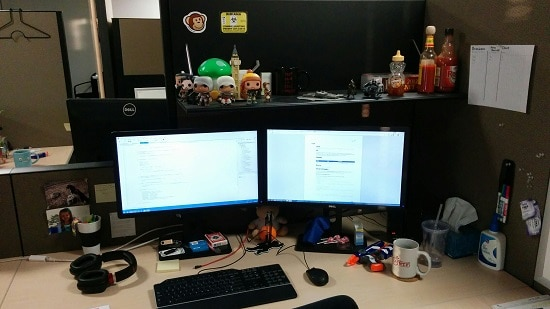 app developer work station