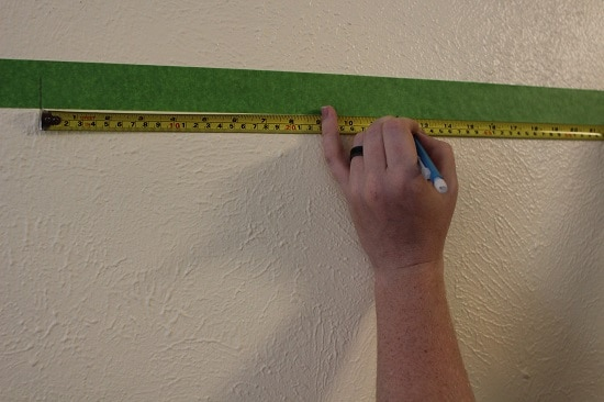 hang a picture on the wall measure