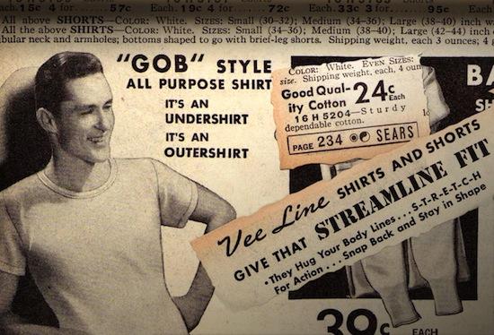WWII undershirt, t-shirt