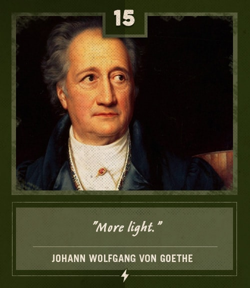 von goethe last words more light