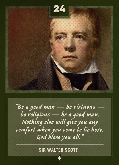 sir walter scott last words