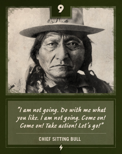 chief sitting bull last words