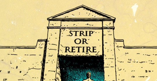 strip or retire skin in the game illustration