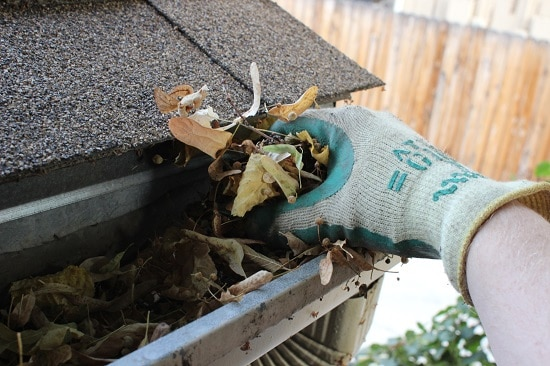 cleaning gutters by hand how to clean gutters