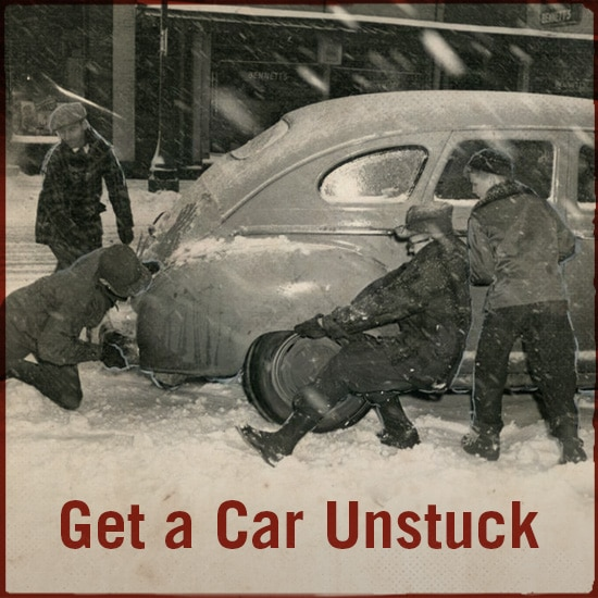 how to get your car unstuck from mud