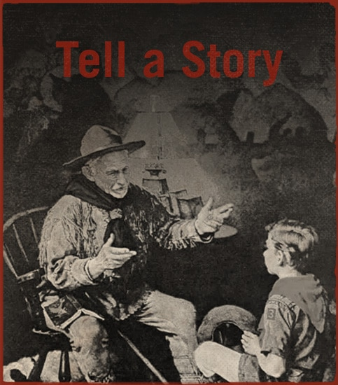 Tell a story.