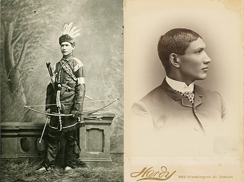 Charles Alexander Eastman portrait Sioux Indian.