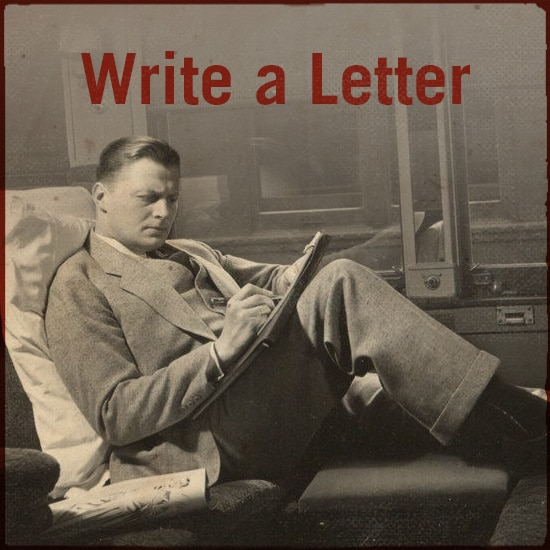 Write a letter.