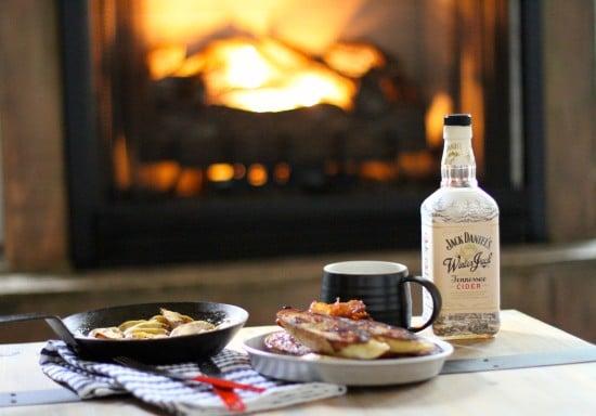 jack daniels whiskey winter jack breakfast bacon