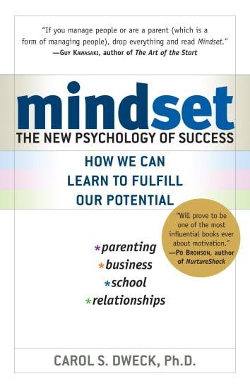 mindset book cover carol dweck