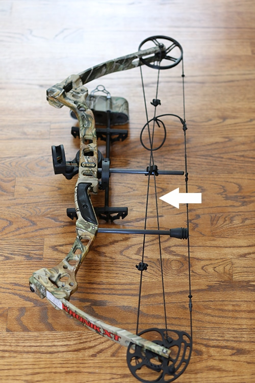 compound bow parts cables hunting weapon