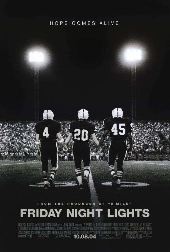 friday night lights movie poster best football films