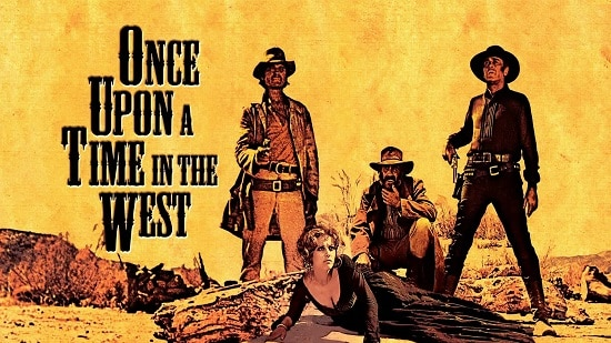 once upon a time in the west movie poster