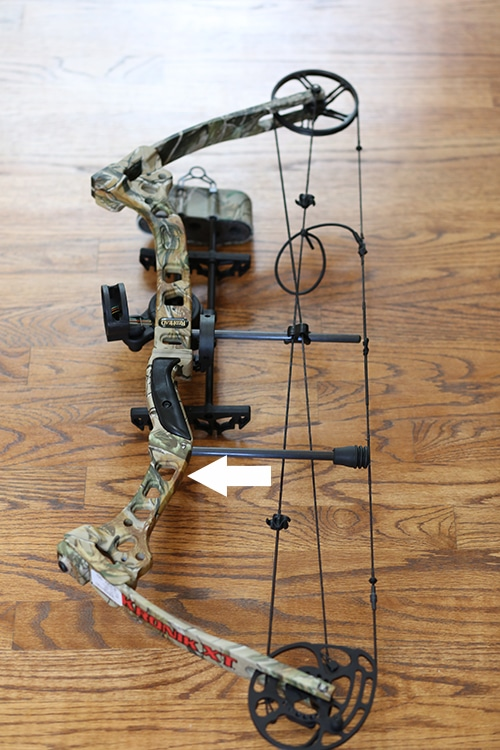 Compound bow riser parts and anatomy.