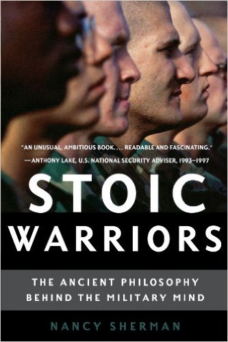 Stoic warriors, book covery by nancy sherman.