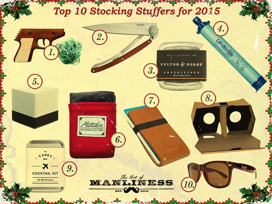 top 10 stocking stuffers for men
