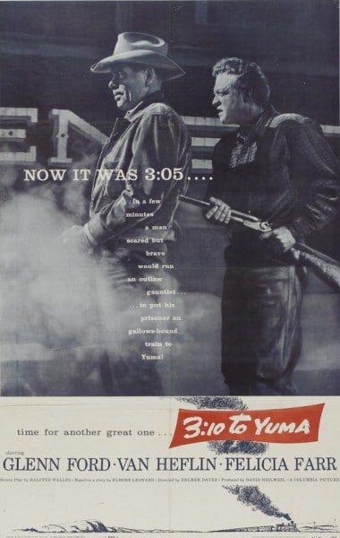 3:10 to yuma 1957 western movie poster