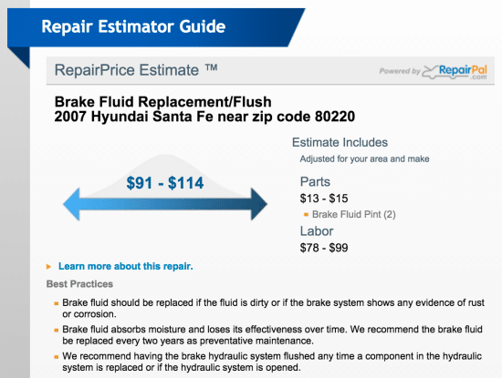 napa auto repair estimator tool car fixes