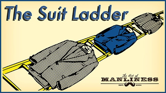 The suit ladder illustration.