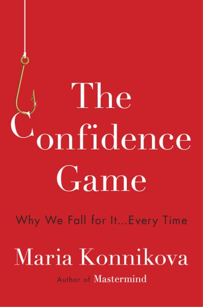 confidence game book cover maria konnikova